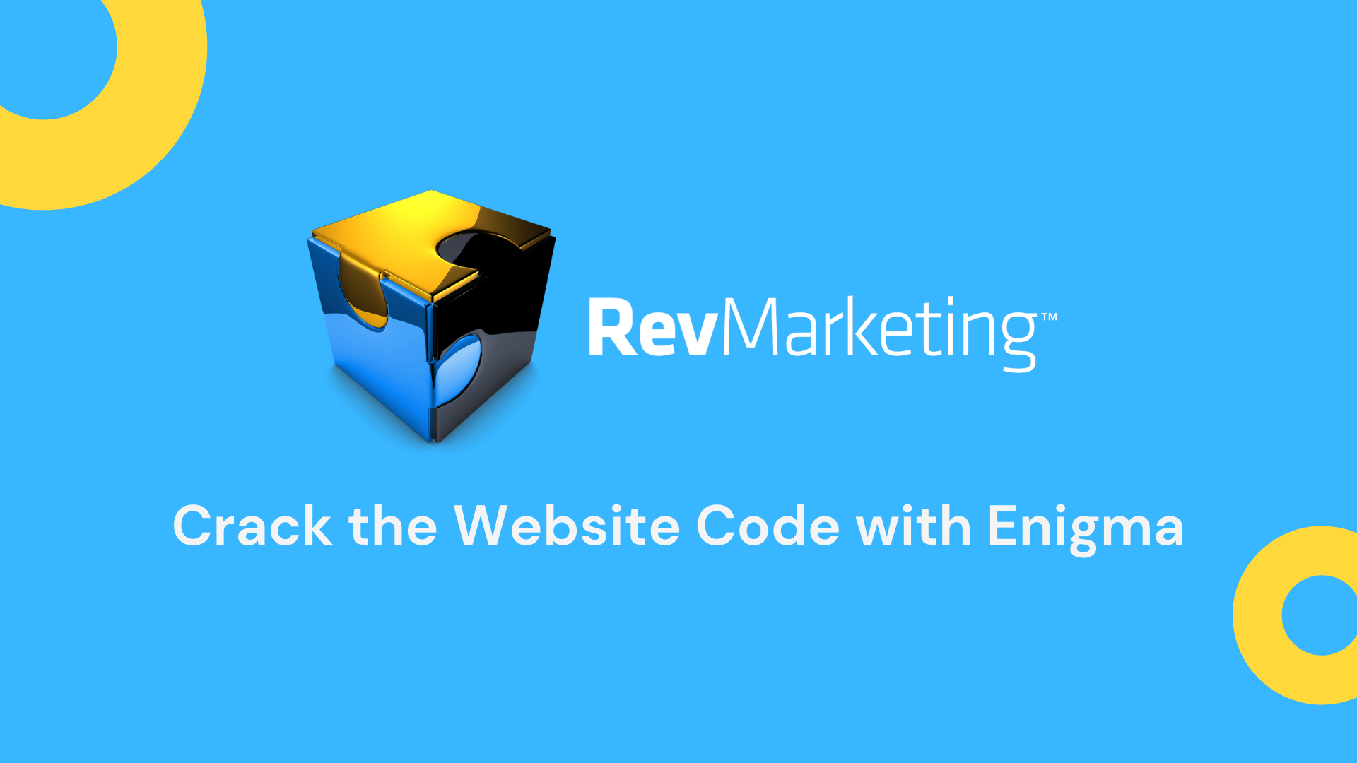 rev marketing logo with circles